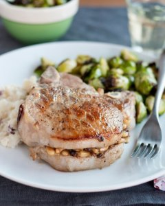 http://www.thekitchn.com/recipe-pork-chops-stuffed-with-pine-nuts-porcini-mushrooms-and-pecorino-recipes-from-the-kitchn-197095