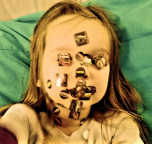 Sticker face