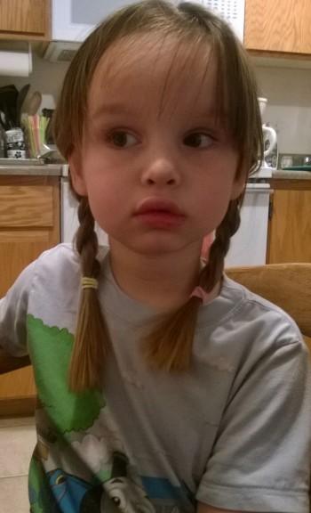 """""""Make my hair like Princess Anna!"""""""