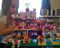 My Lego house creation for her