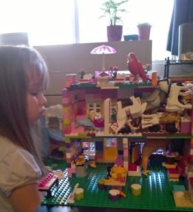 I build, she destroys