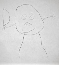 Maya's self portrait